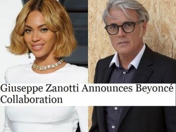 Beyonce + Giuseppe Zanotti Collaboration