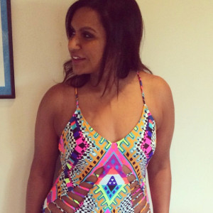 Mindy Kaling In Swimsuit