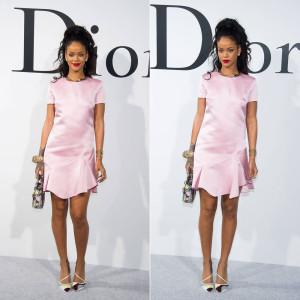 Rihanna in Dior Resort 2015